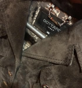 Замшевый жакет ( куртка)