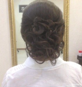 Плетение кос, легкие причёски