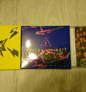 Cd диски Би-2 + dvd три концерта