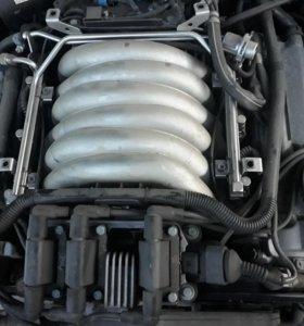Двигатель от ауду А8 AAH 2,8л ACK 2.0л