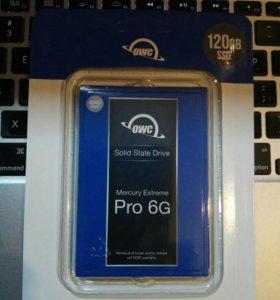 SSD жесткий диск OWC 120GB Mercury Extrime 6G