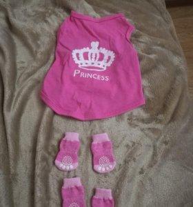 Платье и носочки для животных