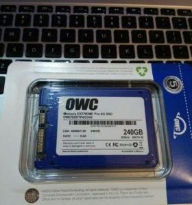 SSD жесткий диск OWC 240GB Mercury Exteme 6G