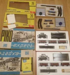 Железная дорога производство гдр 4 штуки