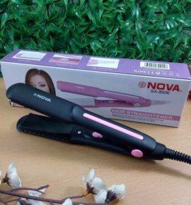 Утюжок для выпрямления волос mini Nova 💆🏼⭐️