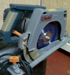 Пила дисковая ручная Rebir ie5107g2