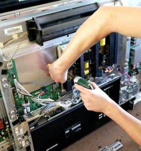 Ремонт плазменных телевизоров и компьютеров