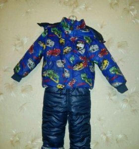 Комбинезон с курткой детский