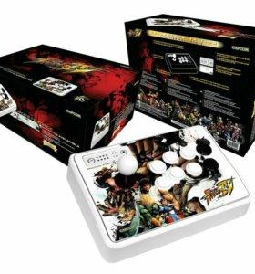 Редкий Аркадный джойстик Street Fighter 4 для ps3