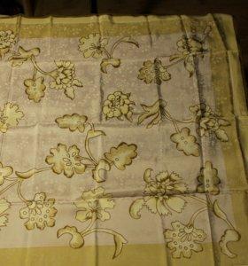 Винтажный шелковый платок Мexx 80Х78 см