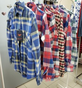 Рубашка фланель