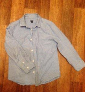 Рубашка на мальчика 128