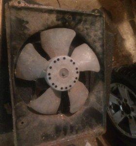 Вентилятор на Субару легаси