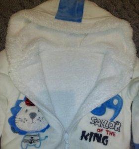 Детская курточка теплая