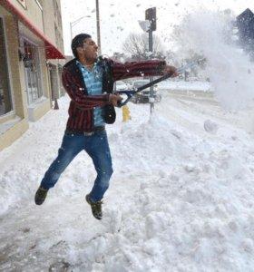 Ручная Чистка снега уборка территории