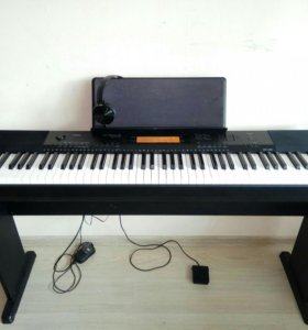 Цифровое пианино Casio cdp-220R стойка наушники