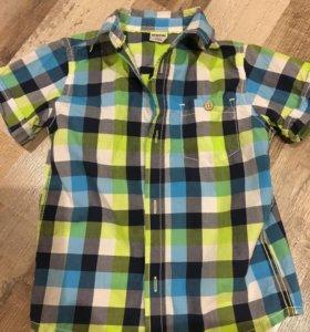 Рубашечка Остин на 104см в отличном состоянии