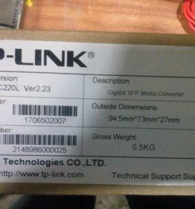 Медиаконвертер TP-link MC220L (новый)