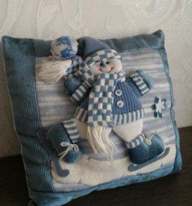 Подарок-сувенир подушка Новый Год