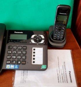 Цифровой стационарный телефон с трубкой