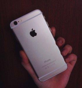 iPhone 6 Gold / 16Гб / + 2 чехла
