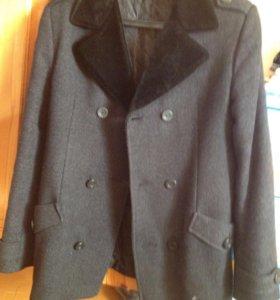 Пальто мужское весна осень зима(есть подклад)