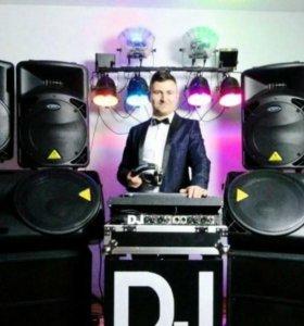 D.J с комплектом оборудования