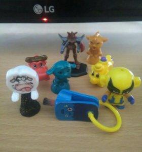 Игрушки из киндэров