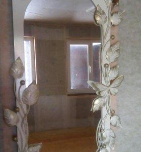 Зеркала с элементами ковки