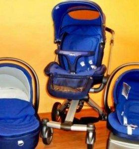 Детская коляска  Chicco trio I Move 3в 1