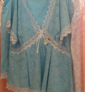 Пижама из батиста