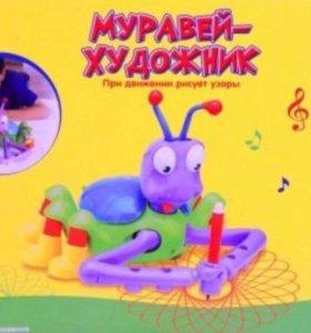 Игрушка Муравей - Художник