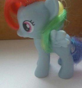 My little pony, радуга, rainbow dash