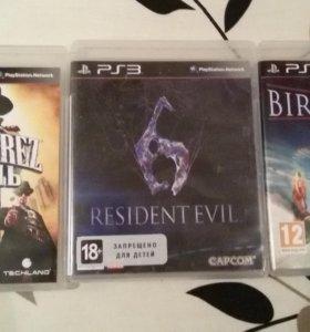Игры на PS 3 resident evil 6 картель bird of ste