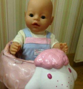 Ходунки музыкальные на колёсиках для куклы