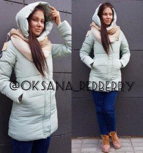 Куртка зимняя новая размер М
