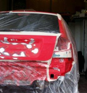 Кузовной ремонт, покраска деталей, ремонт пластика