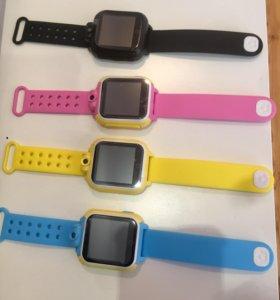 Детские часы с камерой Q750 GPS BabyWatch Новинка