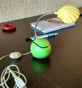 USB Фонарик настольный, светодиодный.