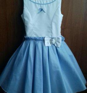Праздничное платье до 134см.