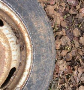 Шина и колесо в сборе для газели