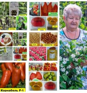 Семена томатов, перцев и других овощей