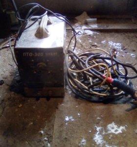 Сварочный аппарат с кабелями