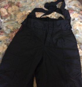 Полицейские утеплённые демисезонные штаны