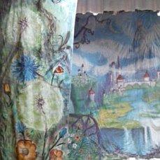 Роспись стен ворот дверей и др. поверхностей