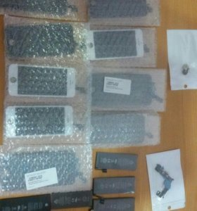 Iphone 5 5c 5s 6 дисплеи замена батарейки
