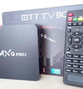 TV приставка MXQ PRO 4k (Android TV)