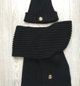 Шапка + шарф комплект