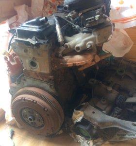 Двигатель фольтсваген гольф 3,моно впрыск 1,6