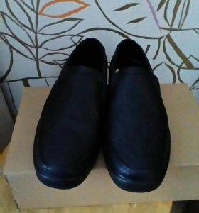 Ботинки нат кожа новые